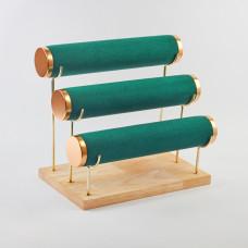 Ekspozytor do bransoletek 3 rolki 27x16x24,5cm