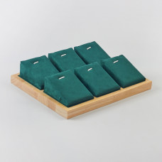 Ekpozytor na 6 naszyjników 24,5x18,5x5cm