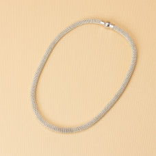 Naszyjnik z drobnych łańcuszków 43.5cm