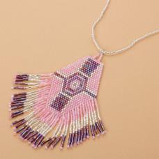 Naszyjnik boho z koralików Matsuno 10cm