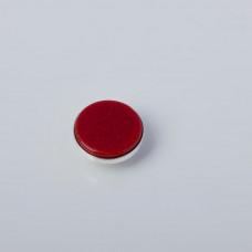 Srebrna wpinka Kaleidoskop czerwony piasek pustyni 10mm