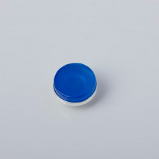 Srebrna wpinka Kaleidoskop agat niebieski  10mm