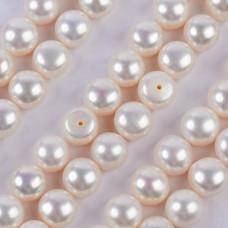 Perły hodowlane do kolczyków białe 9-9.5mm