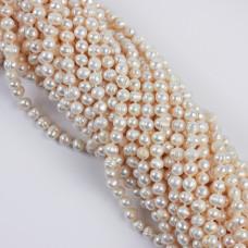 Naszyjnik z pereł naturalnych białych 8mm