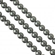 Perły seashell gwiezdny srebrny 12mm