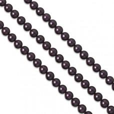Perły majorka ciemno fioletowe 8mm