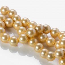 Perła seashell kulka złota 14mm
