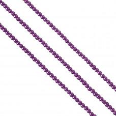 Perły szklane fioletowe 4mm