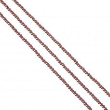 Perły szklane blady fiolet 4mm