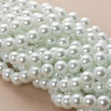 Perły szklane białe 10mm