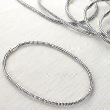 Naszyjnik star dust silver 6mm