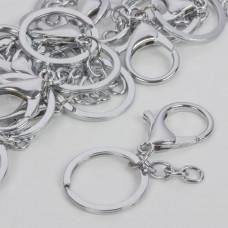 Baza breloczka w srebrnym kolorze