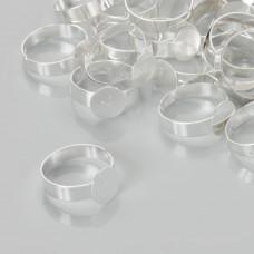 Baza pierścionka z płaskim talerzykiem 10mm