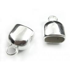 Końcówki owalne akrylowe powlekane 10x6mm