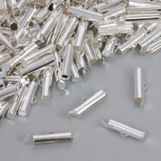 Końcówki do płaskich bransoletek 16.5x3.5mm