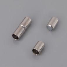 Zapięcie magnetyczne do wklejania rurka 4mm