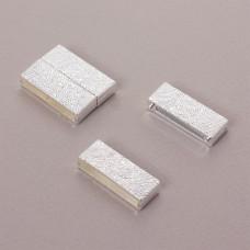 Zapięcie magnetyczne płaskie diamentowane 28x4mm