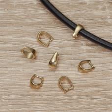 Srebrna, pozłacana krawatka do Swarovskiego, próba Ag925 7,5mm