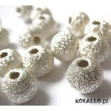 Kulki srebrne diamentowe 10mm
