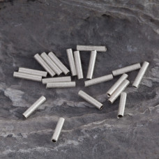 Srebrne rurki gwiezdny pył 10mm, Ag925
