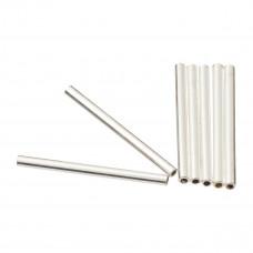 Srebrne rurki proste 1,5mm x 2cm, Ag925