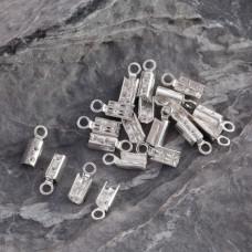 Srebrne zaciski do rzemieni, Ag925 2mm