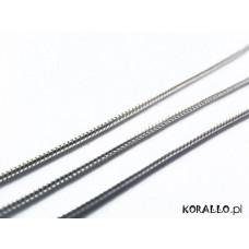 Srebrny łańcuszek żmijka 0,75mm, Ag925