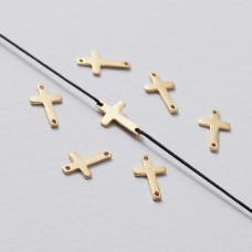 Rozgałęźnik mini krzyżyk ag925 złoty