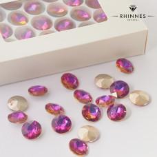 Kryształy Rhinnes flat diamond volcano 14mm