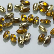 Koraliki RIZO 2,5x6mm Topaz Amber (FR10060)