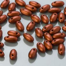 Koraliki RIZO 2,5x6mm Matte Metallic Dark Copper (01750AL)