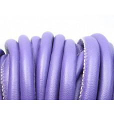 Rzemień szyty fioletowy 10mm