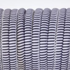 Rzemień szyty zebra 6mm