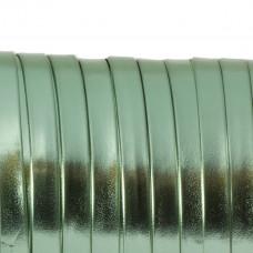 Rzemień płaski metalic green 8x1mm