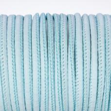Rzemień szyty błękitna łuska 3mm