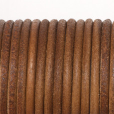 Rzemień naturalny lakierowany 5mm