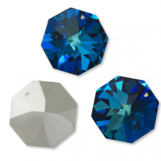 Preciosa octagon 36mm bermuda blue