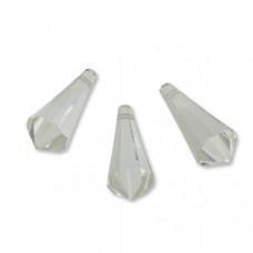Preciosa MC drop 28mm crystal