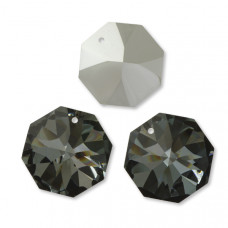 Preciosa octagon silver night 28mm