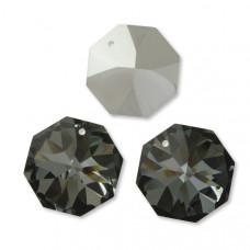 Preciosa octagon silver night 28mm