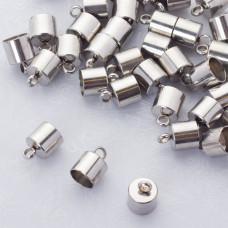 Końcówki do sznurków i rzemieni ze stali chirurgicznej 8mm