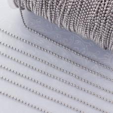 Łańcuszek kulkowy ze stali chirurgicznej 1.5mm
