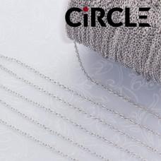 Łańcuszek mini owal ze stali chirurgicznej 1.0x1.5mm