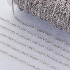 Łańcuszek owal ze stali chirurgicznej 1.5x2.00mm