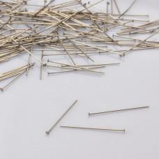Szpilki z płaską główką ze stali chirurgicznej 30mm