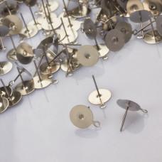 Sztyfty z talerzykiem do naklejania i podwieszania ze stali chirurgicznej 10mm