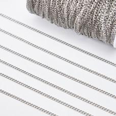 Łańcuch ze stali chirurgicznej simple 3,5x2,5mm