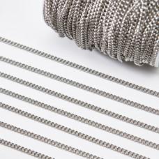Łańcuch ze stali chirurgicznej simple 5x4mm