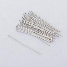 Szpilki z płaską główką ze stali chirurgicznej 40mm