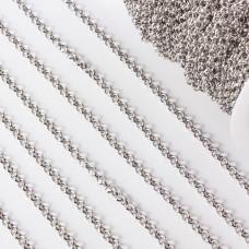 Łańcuch ze stali chirurgicznej  rollo guby 5mm